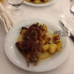 Oven baked lamb. Simply amazing, even the fat on the meat was tasty!