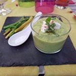Gaspacho courgette (Frais super bon)