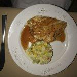 Chicken dish - excellent choice