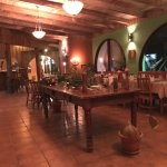 The restaurant was clean, inviting and large or small groups were welcome.