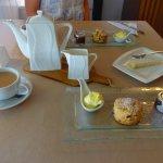 Cream tea at Whiddons Bistro