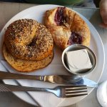bagel and pastry