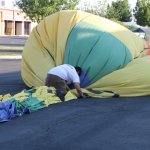 It is a lot of work deflating our balloon