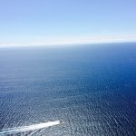 Vue de la mer au point culminant