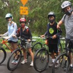 Ready to ride down from almost 6,800 feet(highest you can ride down from), Nice bikes w/good bra