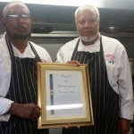 awarded the  restaurant appreciation certificate for supporting the community