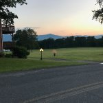 One of the fantastic views of the Catskill Mountains from the middle of the resort