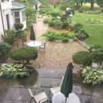 We arrived on a rainy day and the view from our room was still beautiful.