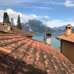 Terrace View of Lake Como