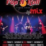 Fridays and Saturdays Pop'n'roll Shows