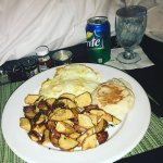 Room Service from Aqua Restaurant inside Westin - Breakfast Day 1