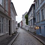 Back streets of Bergen, 10:30 pm, late June