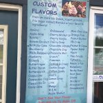 Customize flavors and toppings