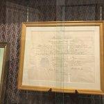 NY's coy of the Emancipation Proclamation