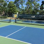 The courts are beautiful with easily differentiated kitchens.