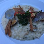 My Risotto dies was delicious and just the right amount for my tastes