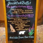 Northern Latitudes Breakfast buffet