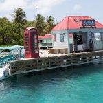 Dock at Marina Cay