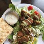 Falafel Greek Salad