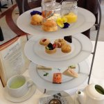 Charming Afternoon Tea-Clever Menu and Great Service