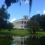 View from reflecting pond.