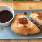 French dip (made with lamb)