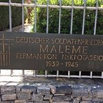 German War Cemetery Foto