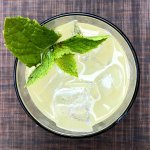 Pineapple-ginger mojito