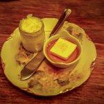 Butter, honey and rock salt - a heavenly combination
