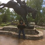 Me at Chris LeDoux Park