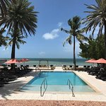 Gorgeous pool and grounds at The Southernmost House Hotel