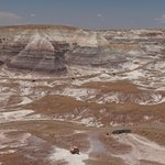 Panorama of Blue Mesa