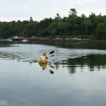 Kayaking in front of Ocean Gate