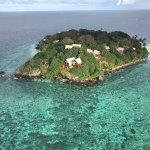 Aerial view of Royal Davui Island Resort!