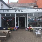 Coast cafe Rhos on sea