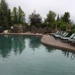 The Pronghorn Resort has excellent facilities such as their outdoor pool.