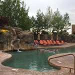 The Pronghorn Resort boasts two separate swimming pools.