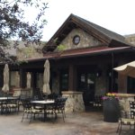 The Pronghorn Resort offers a pleasant outdoor breakfas experience on the patio