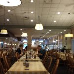 dinning area is very large, clean and great decor.