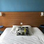 Belle vue depuis la chambre,  lit confortable et architecture Perret