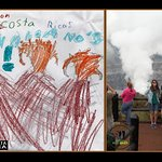 Three active volcanos of Costa Rica by Simon. If you can't get the picture, just draw it.