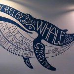 The Min y Mor Whale.