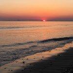 Barmouth beach sunset
