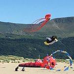 Barmouth beach kite festival
