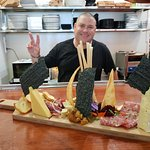 Our Stunning Chef with his Signature Chatter Platter