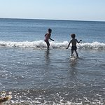 Barmouth beach.