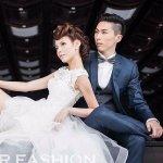 Contemporary 3-Piece Custom Wedding Suit