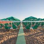 BIO Beach. A sandy beach 50 meters from hotel
