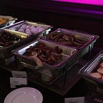Breakfast Room: Wide choice of hot dishes
