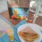 Morning with health food @hellocreperie